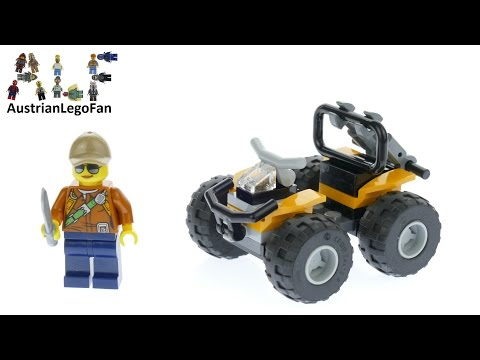 Vidéo LEGO City 30355 : Quad de la jungle (Polybag)