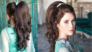 Incredible Volumetric Ponytail - Quite Simple Prom Hairstyle For Thin Long Hair
