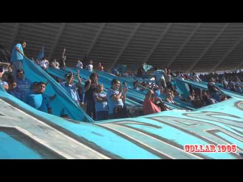 """""""Gallina no me jodas jamas..."""" Barra: Los Piratas Celestes de Alberdi • Club: Belgrano"""
