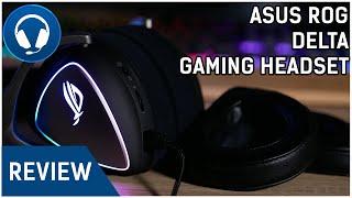 ASUS ROG Delta Gaming Headset Review - DAS BESTE HEADSET VON ASUS
