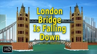 London Bridge Is Falling Down Nursery Rhymes Popular Baby Songs