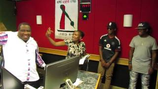 Thuso Motaung with  @EmTeeSA in studio - 04 February 2016