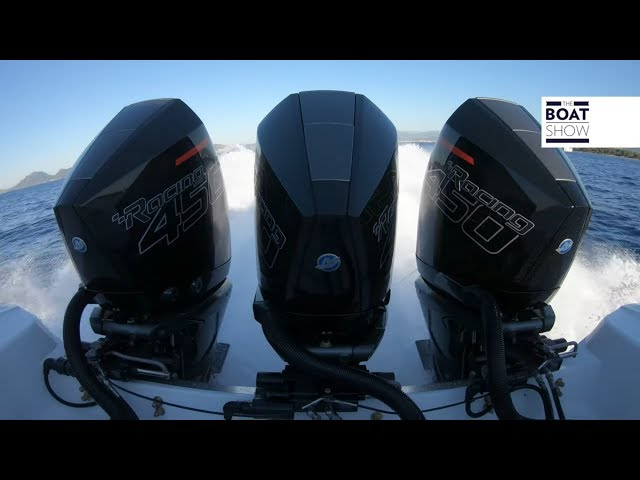 [ENG] MERCURY RACING VERADO 450 R - Outboard Engine Exclusive Review - The Boat Show