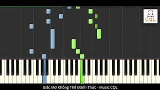 Piano Tutorial | Giấc Mơ Không Thể Đánh Thức (醒不来的梦) - Thập Nhị (拾贰) | Hot Tik Tok 2020