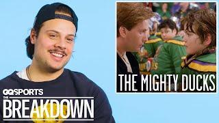 Hockey Player Auston Matthews Breaks Down Hockey Scenes From Movies | GQ Sports