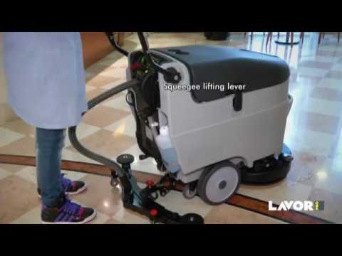 Lavor Speed 45 Eco Zemin Yıkama Makinesi