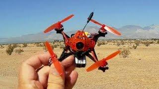 Reddevil V2 Toothpick Micro FPV Racer Drone Flight Test Review