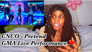 CNCO - Pretend Live Performance GMA (Reaction)