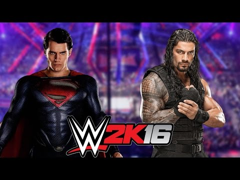Superman vs Roman Reigns
