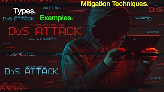 Cyber Security   DOS ATTACK | Denial Of Service ATTACK | Types Of DOS Attack | DOS Attack Examples