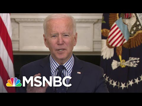 'Help Is On The Way': Biden on Senate Passing 'Sesperately Needed' Covid Relief Bill | MSNBC