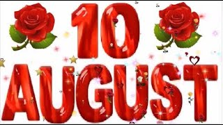 10 August Special   Birthday