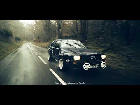 Audi Quattro - Original 1980 Launch Sales Folder, Cards & Poster DE language