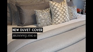HOME DECOR    DUVET COVERS & BEDDING IDEAS    GLAM PILLOWS