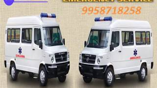 Get Immediate Booking for Road Ambulance Facilities in Varanasi