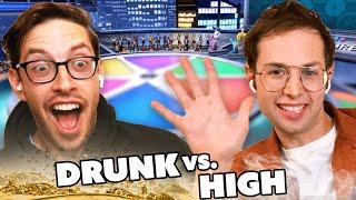 Try Guys Try Drunk Vs. High Trivia