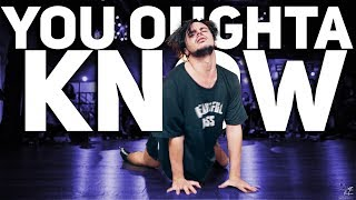 """YANIS MARSHALL HEELS CHOREOGRAPHY """"YOU OUGHTA KNOW"""" ALANIS MORISSETTE. MILLENNIUM L.A"""