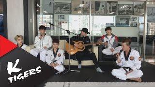 [Lunch LIVE] BTS - Spring day Accustic ver. 방탄소년단 - 봄날 어쿠스틱 버전
