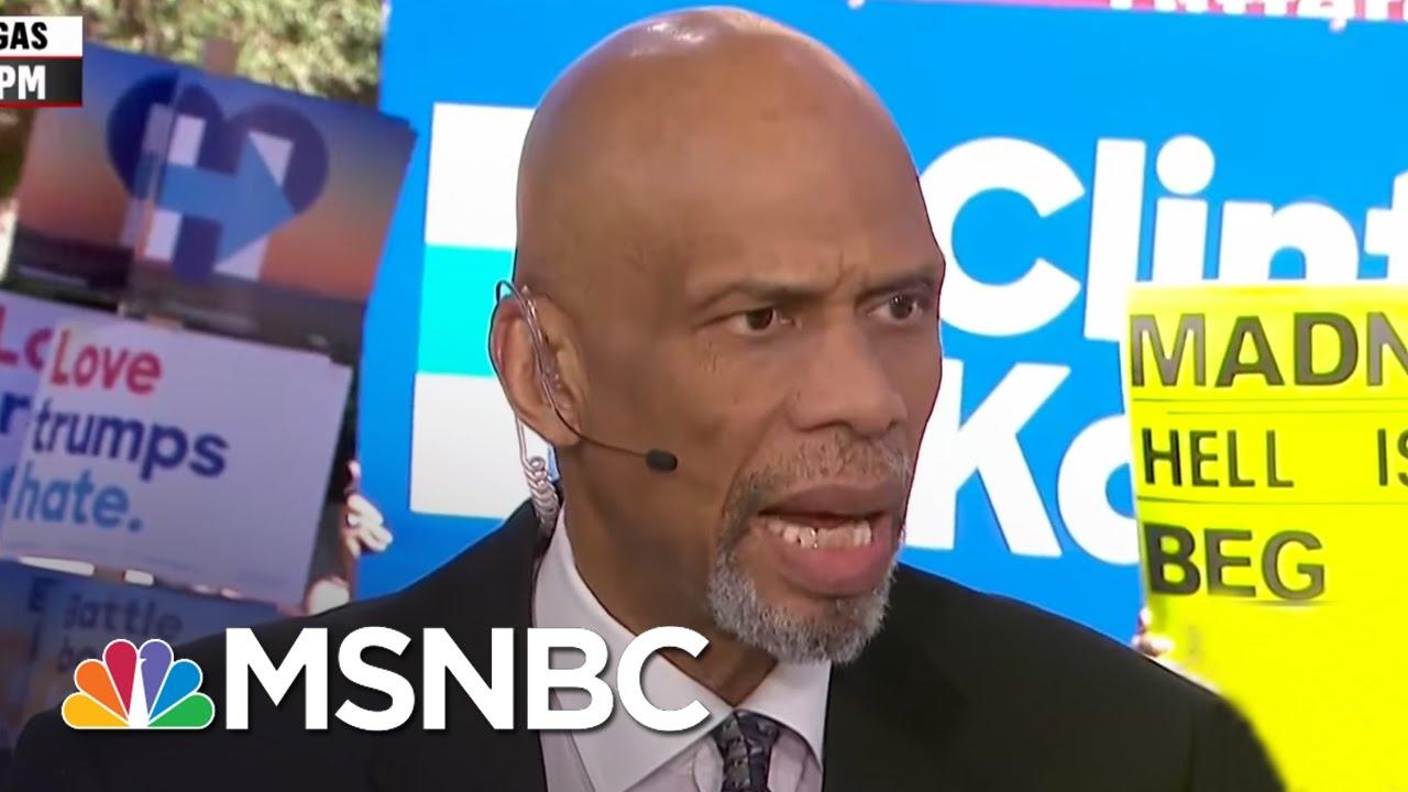Kareem Abdul-Jabbar On Donald Trump And Muslim-Americans | All In | MSNBC thumbnail
