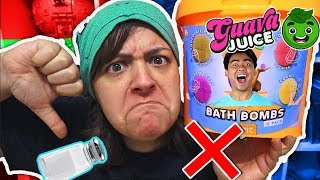 DON'T BUY! 17 REASONS GUAVA JUICE BATH BOMB Kit is NOT worth it SaltEcrafter#28