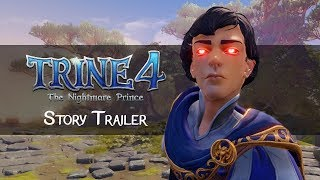 Trine 4: The Nightmare Prince - Story Trailer   Coming Oct 8