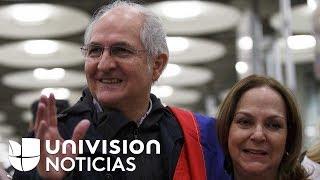 """Antonio Ledezma: """"Hoy cuando llego a España me siento libre"""""""