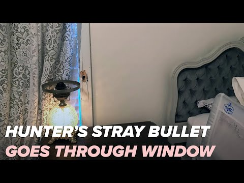 Deer hunter's stray bullet goes through two-year-old's bedroom in Hot Spring County