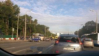 волоколамское шоссе, 25.07.17 6:30