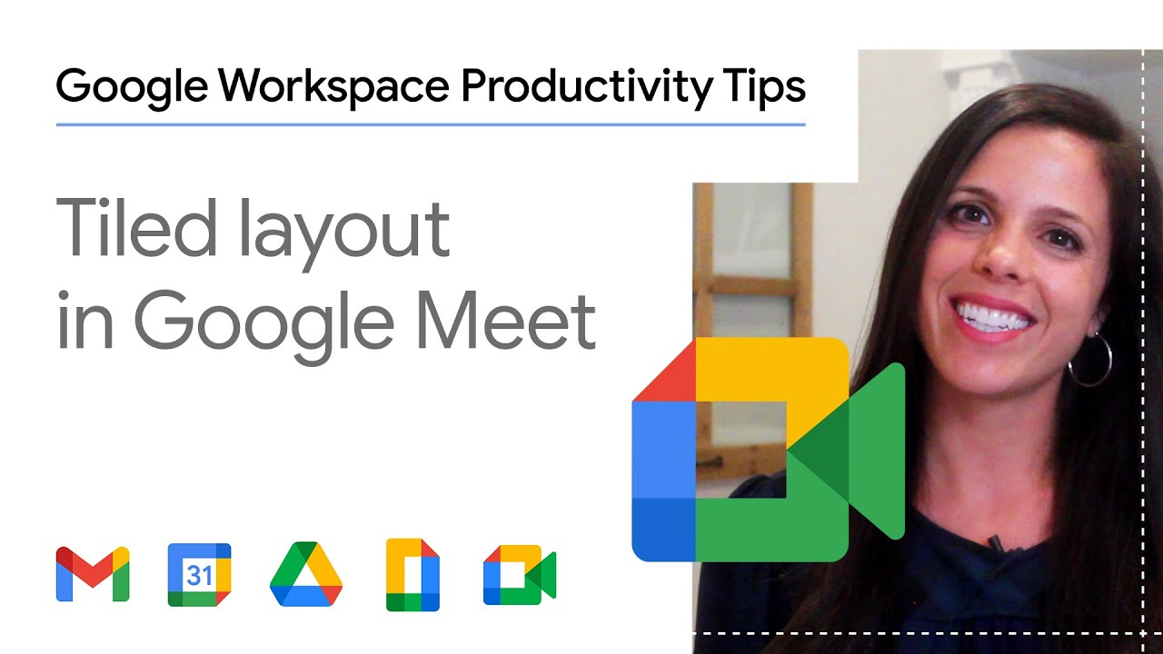 Ever been on a Google Meet call and wanted to see everyone's face who's on the call? In this episode of Google Workspace Productivity Tips, we show you how to utilize Meet's tiled layout, allowing you to see up to 49 participants in one easy step!