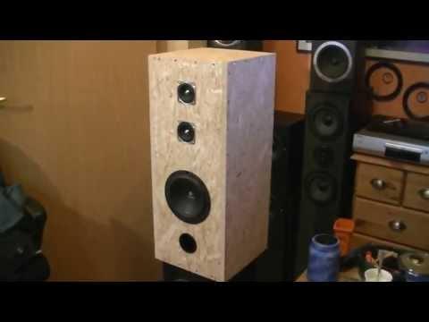 Lautsprecher Boxen Selbstbau Tutorial