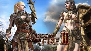 Начинаем играть в ОБТ Kingdom Under Fire 2 - Боевой МАГ !!! # 2
