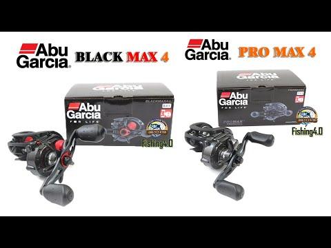 Máy Ngang Abu garcia Black Max 4 - New 2021
