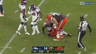 Jarvis Landry Injury vs. Broncos | NFL Week 7