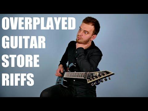 TOP 10 Overplayed Guitar Riffs at Guitar Stores
