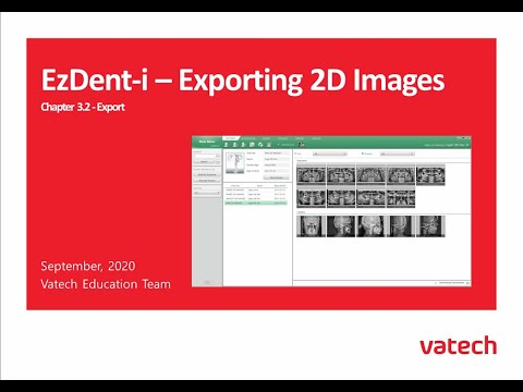 Exporting 2D Images