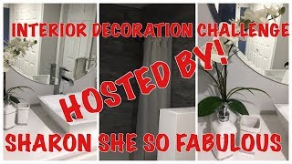 INTERIOR DECORATING COLLABORATION | HOSTED BY: SHARON SHE SO FABULOUS