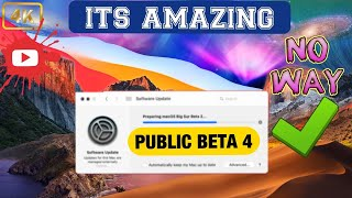 MacOS 11 Big Sur Public Beta 4 Update - Its Amazing !! What's Changed
