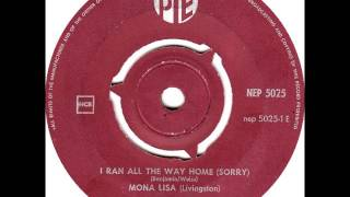 I Ran All The Way Home (Sorry)-Emil Ford & Checkmates-'61-Pye 5025