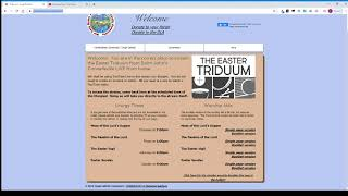How to Guide: Live-Streaming the Triduum