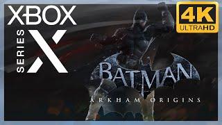 [4K] Batman : Arkham Origins / Xbox Series X Gameplay