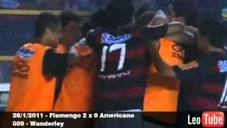 Flamengo Gols Janeiro de 2011 O Bonde Não Para (Músicas Mv.Bill e Emicida)