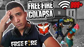MIRA COMO FREE FIRE Y SUS SERVIDORES COLAPSARON MIENTRAS JUGABA CLASIFICATORIA •GARENA•