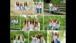 Three Best Friends Group Photo Poses // Friends Group Photo Poses