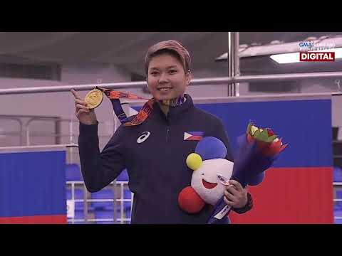 [GMA]  HIGHLIGHTS: PHL Chezka Centeno wins gold in women's 10-ball pool singles | SEA Games 2019
