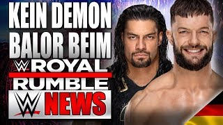 Kein Demon Balor beim Royal Rumble!, Update zu Roman Reigns | WWE NEWS 08/2019