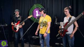 """Группа """"Манго-Манго"""" - концерт в программе Алисы Гребенщиковой """"Своя студия"""" на Радио 1"""