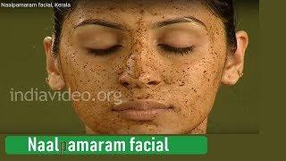Facial using Naalpaamaram paste