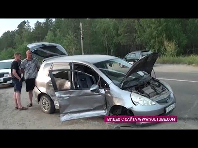Две ангарчанки пострадали в ДТП