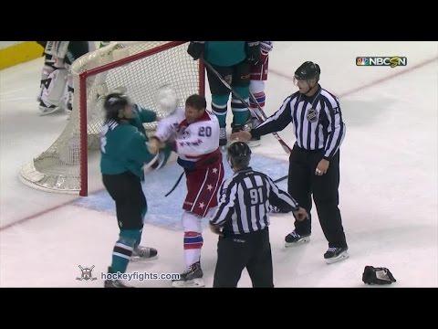 Brenden Dillon vs. Troy Brouwer
