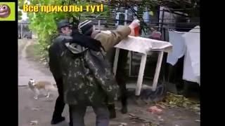 Пьяные мужики мочат коры/Приколы супер